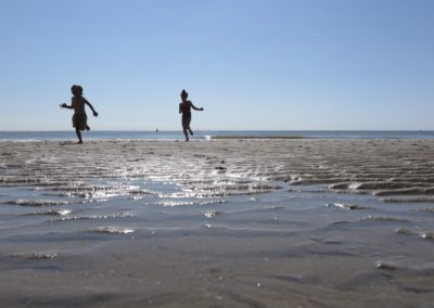 Zwemmen en spelen